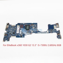 OLDMAN-6050A2848001-MB-A01 920053-601 920053-001 for HP EliteBook x360 1030 G2 Laptop motherboard SR340 i5-7300U 2.60GHz 8gb ram