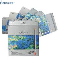 Marco Raffine Изобразительное искусство 24/36/48/72 Цвет нетоксичный Цвет карандаш lapis (жидкокристаллический дисплей) Профессиональный Цветной каран...