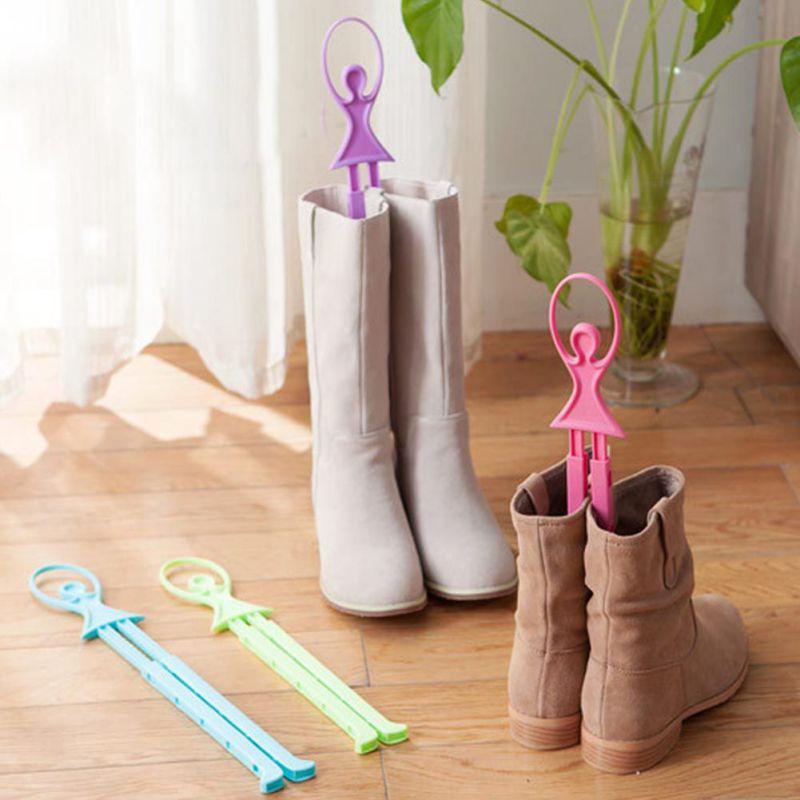 Tree Shoes Pop Home Adjustable Length Hook Girl Ballet Scalable Table Shoe Rack Long Boots Stays Folder Storage Holders