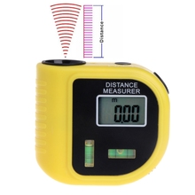 цены Mini Handheld Rangefinder Electronic Laser Distance Meter 18M Digital Tape Measure Area Angle Ruler Tester Tool
