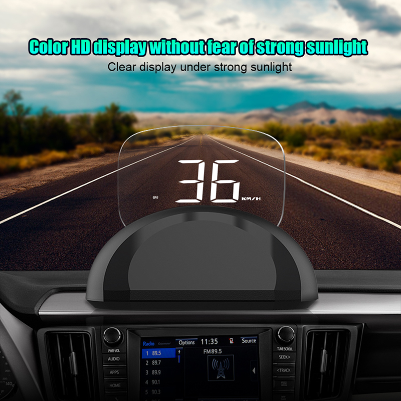 C700s Car HUD Head Up Display OBDII GPS System Overspeed Warning Mirror Digital Projection Car Head