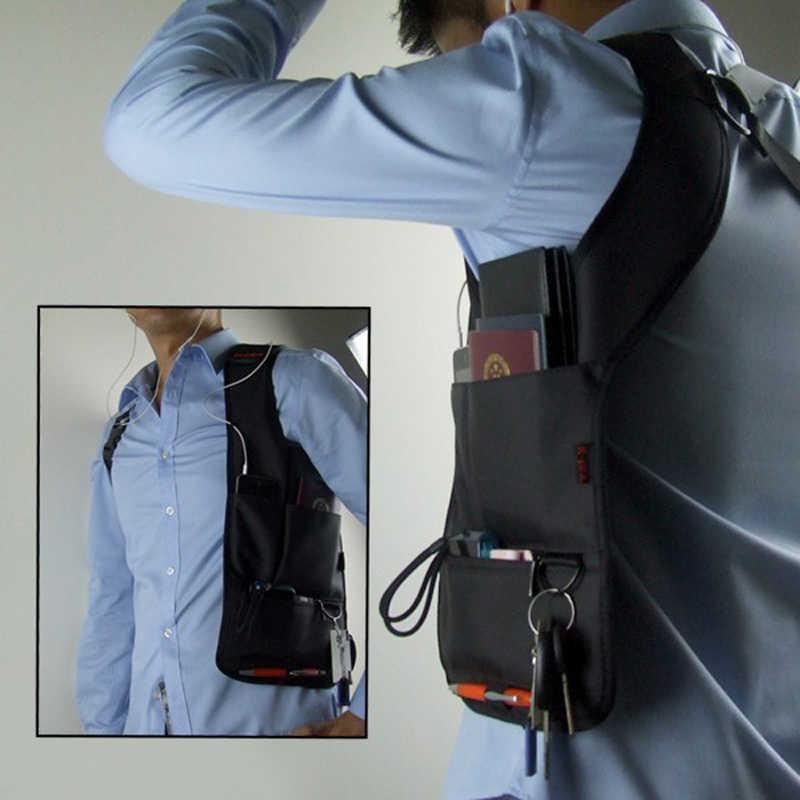 Противоугонная Скрытая сумка через плечо подмышка инструмент дорожный несессер кобура барсетка сумка