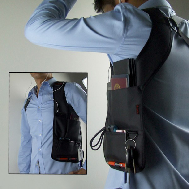 Anti-theft Hidden Shoulder Armpit Bag Tool Travel Pocket Holster Shoulder Wallet Pouch