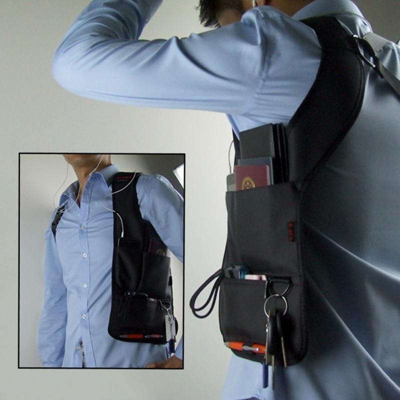 Anti-theft Hidden Shoulder Armpit Bag Tool Travel Pocket Holster Shoulder Wallet Pouch