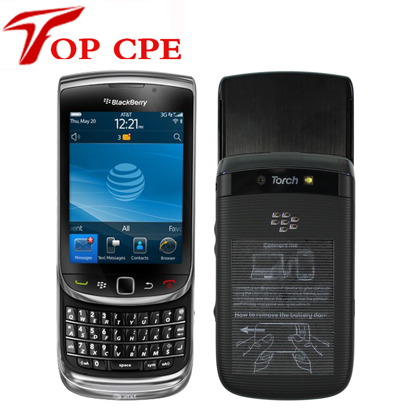 BlackBerry Mobile Phone OS Smartphone Unlocked 3G Wifi Bluetooth GPS Cellphone QWERTY