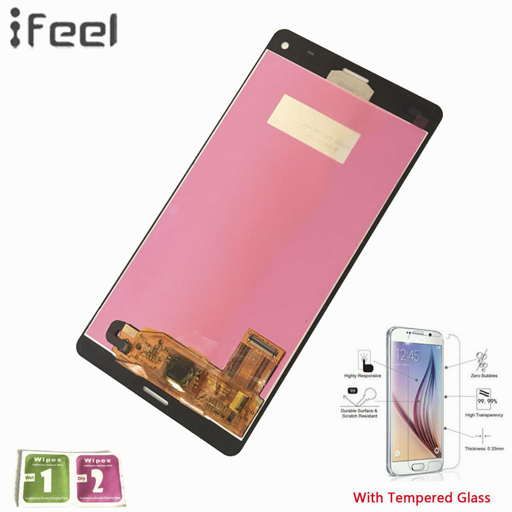 IFEEL 100% Tested LCD Display Touch Screen Digitizer Replacement For Sony Xperia Z3 Compact Z3 Mini D5803 D5833 4.6'' Assembly