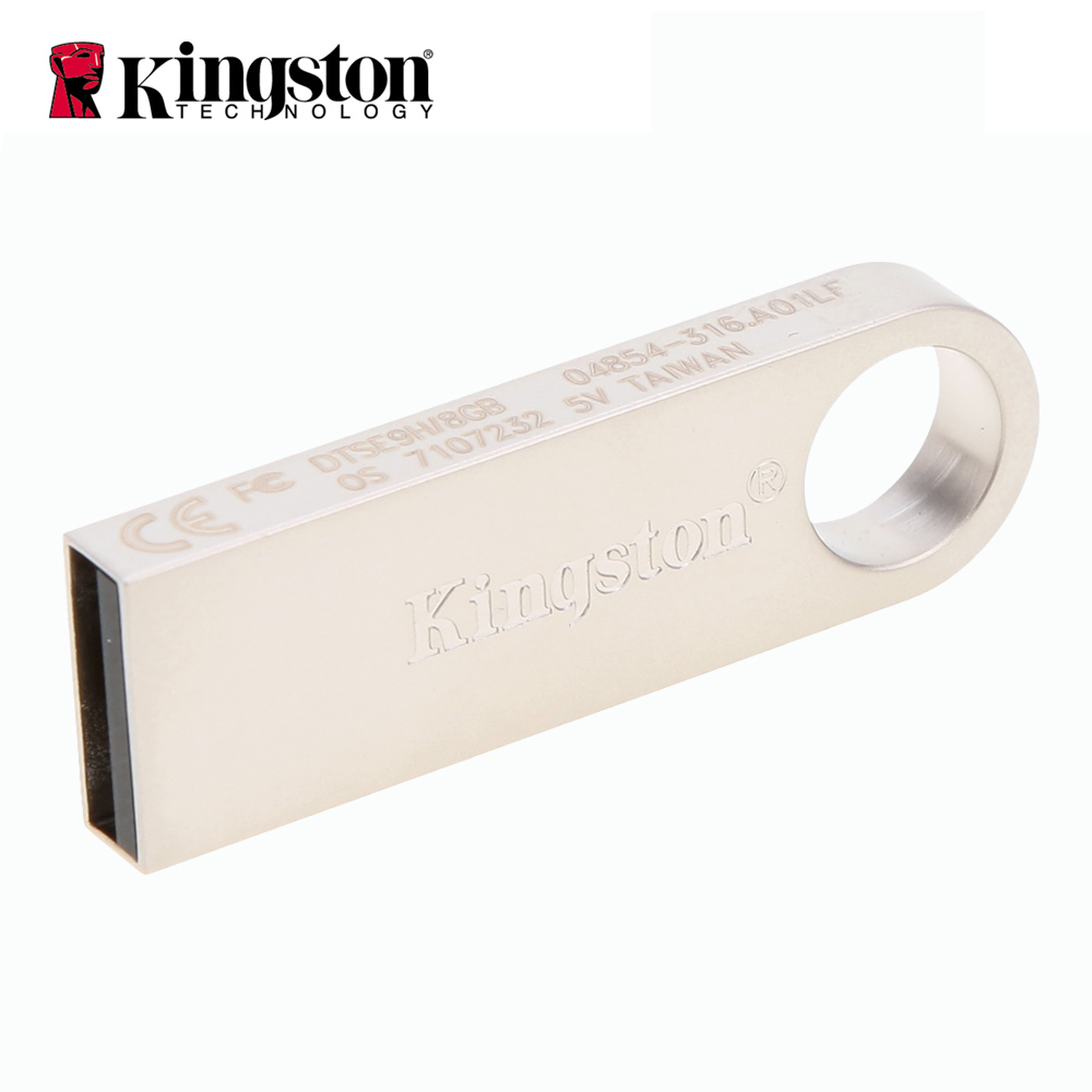 Kingston DTSE9 USB-Stick Metall Mini Key USB Stick 8 gb 16 gb 32 gb Speicher Lagerung Stick USB pendrive Flash Pen Drive Speicher