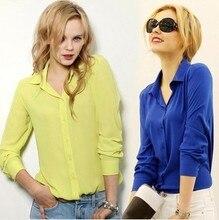 Blouse Special Offer Tassel Regular Solid Blusas Summer Dress 2014 New Long-sleeve Shirt Female Chiffon Women's Slim Small Fresh