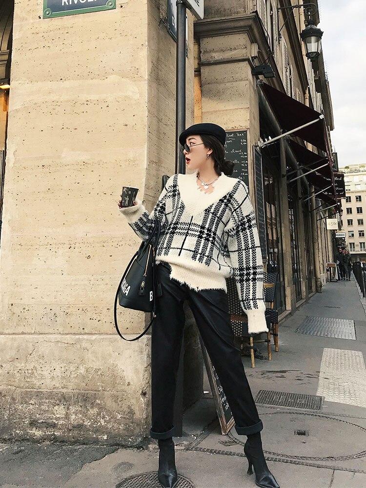 Mode Pantalon Cuir Le Black atrovirens Loisirs Durant Getsring Polaire Pu Taille Panst Haute Match Tout Femmes D'hiver Épaissie En Lâche CgyxqA1w