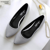 New 2017 Spring Summer Women S Flats Casual Shoes Leather Plus Size 33 45 Tide Fashion