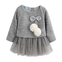 New Year Clothes Baby Girl Dress Casual Autumn Baby Clothes