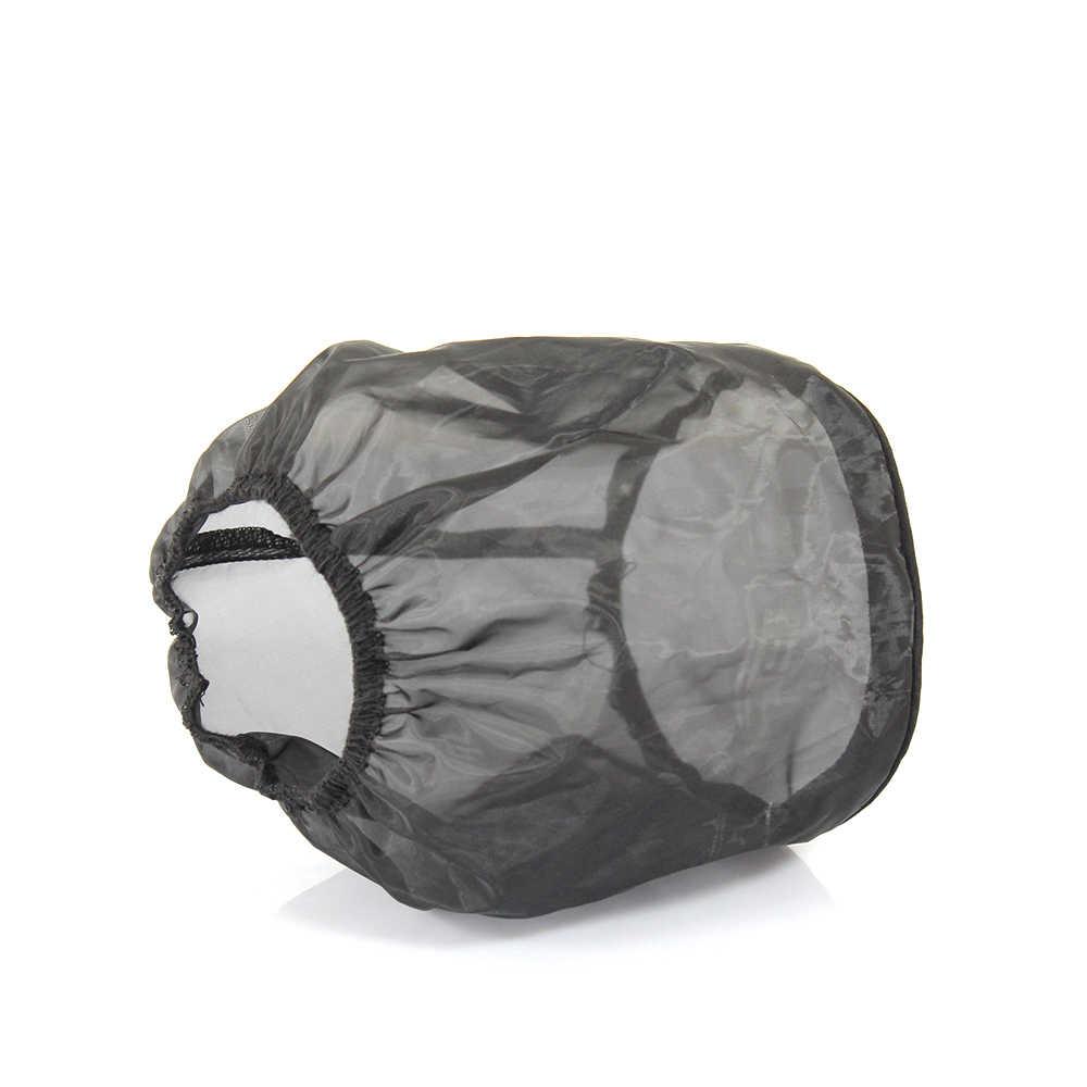 R-EP Universal Air Filter Beschermhoes Stofdicht Waterdicht Luchtfilter Masker Oilproof voor High Flow Air Intake Filters Zwart
