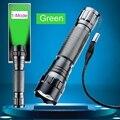 Para o Melhor Preço 5 W Verde CREE LED Lanterna de Alumínio Da Tocha Lâmpada Luz 280 lumen Quali