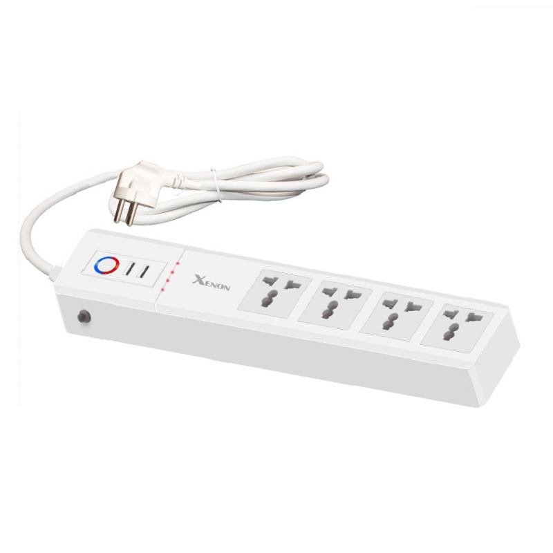 Wifi Smart Power Strip 4AC Universal Outlet India Power Plug 2 USB Charging Port App Timing Voice Control For Alexa Google Home