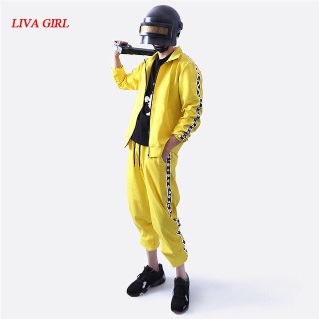 Tracksuit pants yellow pubg