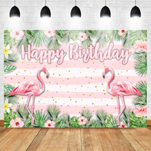Get more info on the Mehofoto Flamingo Photo Background Photophone Birthday party Flower White Pink Stripes Photography Backdrops Studio Shoots