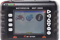 Master Support for 15 Brands Motorcycles MST 3000 Universal Motorcycle Scanner Fault Code Scanner for Heavy duty motorcycles
