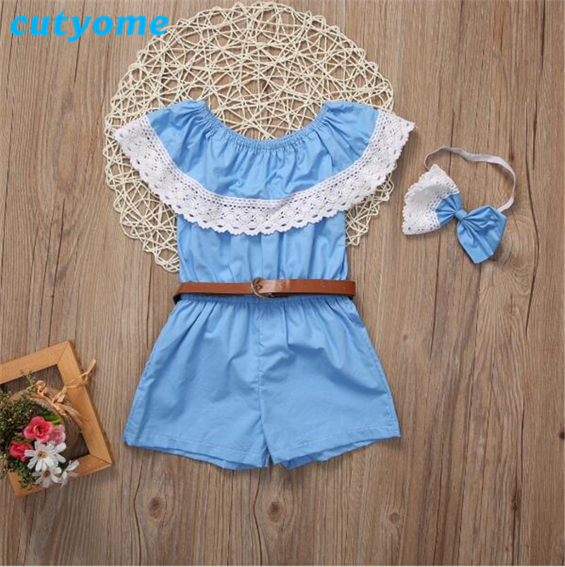 cac4b48d917 Cutyome New Summer Mother   Kids Dresses Fashion Boho Stylish Slash Neck  Ruffles Mom and Daughter Romper Family Matching Clothes-in Matching Family  Outfits ...