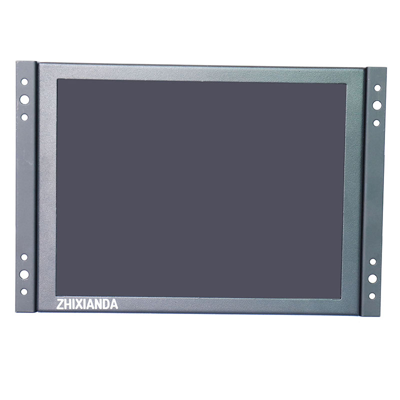 Open Frame 12 inch 1024x768 HD 4:3 Metal Shell HDMI VGA USB Industrial Four-wire Resistive Touch Monitor LCD Screen Display bnc tv interface non touch screen open frame lcd industrial control monitor display with 15 6 inch metal frame page 4