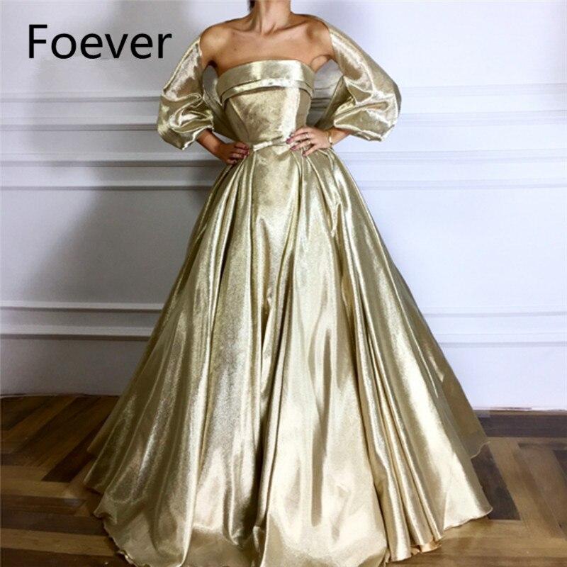 Big Discount Strapless Evening Dresses Robe De Soiree Arabic Dubai Muslim Formal Dress Turkish Aibye Prom Dresses With Wrap 2018 New Arrival November 2020