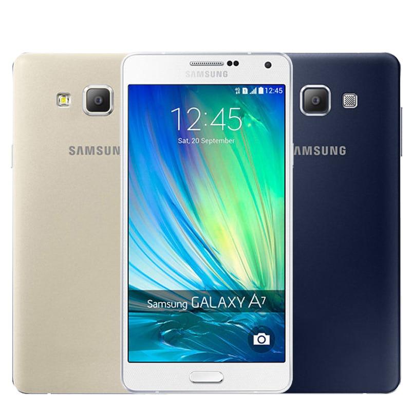 samsung A7000 a7000 دانلود رام فول فارسی سامسونگ A7000-5.0.2 Samsung Galaxy A7 Smart Phone font b A7000 b font Octa Core 2G RAM 16G ROM
