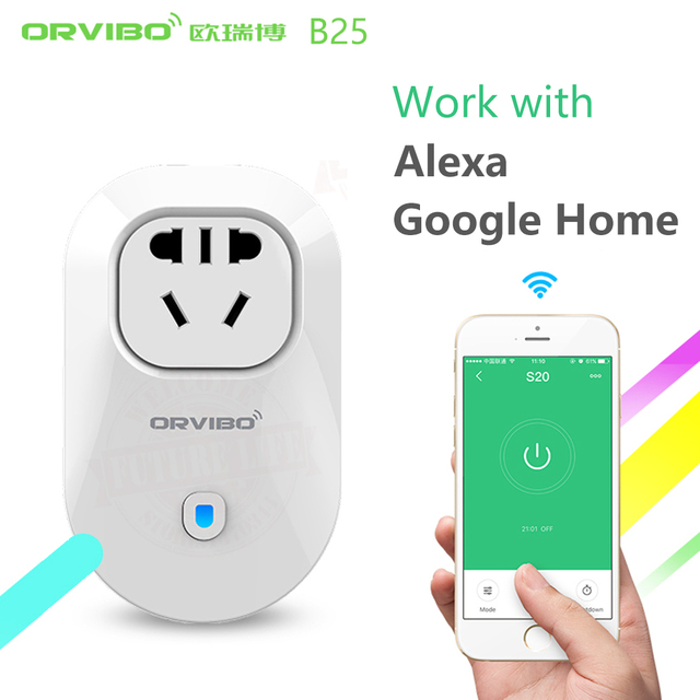 Alexa&Google Home Orvibo Smart Home S20C AUS Standard Smart Power Plug Socket Wifi/4G Remote Control Wireless for iOS/Android