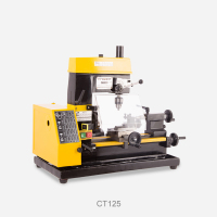 220V Miniature Lathe Bench Drill Watch Clock Machine Teaching Machine Multifunctional Machine Tool CT125 Y