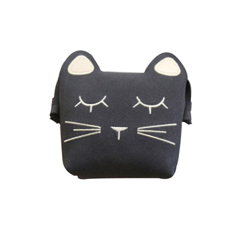 Mini Cute Cat Cartoon Lovely Messenger Bag Kids All-Match Ear Shoulder Bag Key Coin Purse Little Girl`s Present