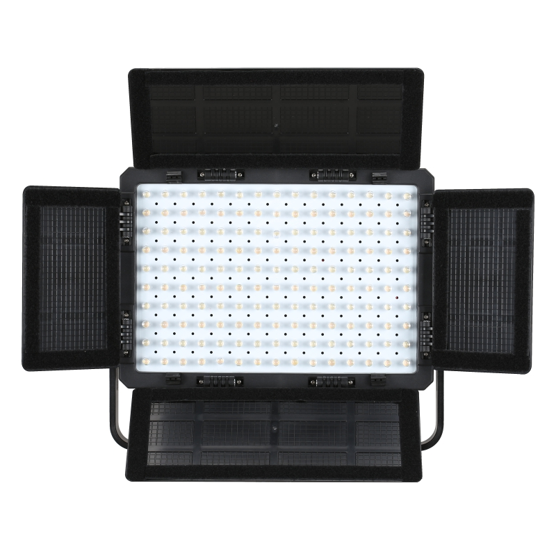 Falcon Eyes 72W LED Panel Photography Video Light Panel Dimmable LED Studio light LP 1505TD with battery BP 160 in Photographic Lighting from Consumer Electronics