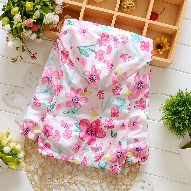 Frühling 2018 Neue Baumwolle Baby Mädchen Mantel Verbringen Drei - Kinderkleidung - Foto 4