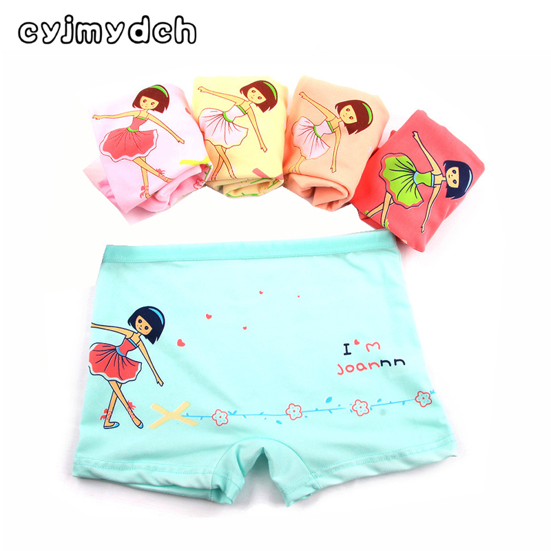5pcs/lot Girls Panties Childrens underwear Teenager Girls underwear briefs kity baby gir ...