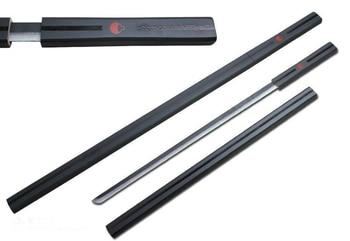90cm long Naruto Sasuke Kusanagi cosplay wood toy sword white/ BlackKusanagi toy 90CM wood swords NA15 cutting tool