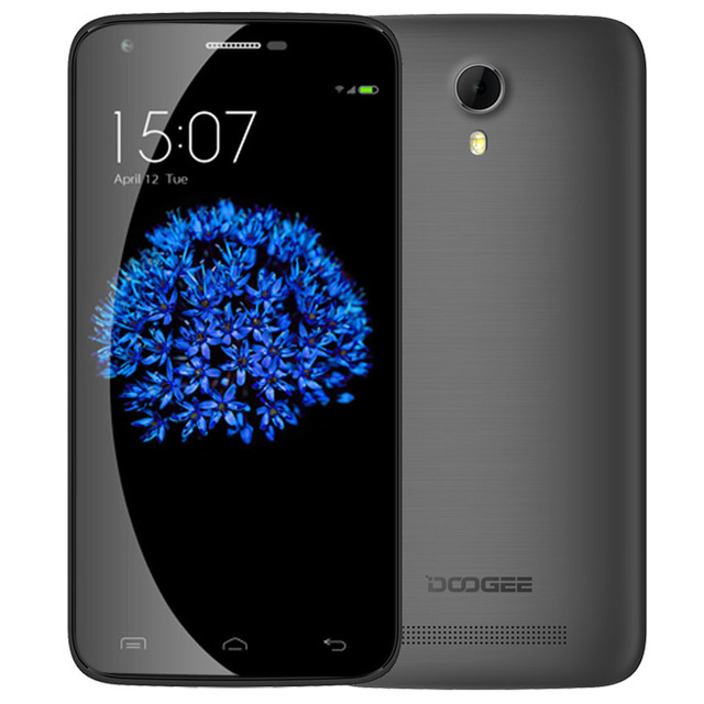"In Stock DOOGEE Valencia 2 Y100 Plus 5.5"" 4G LTE Smartphone telefono MTK6735 Quad Core, 1.0GHz 16GB+2GB Android 5.1 OS 13MP"