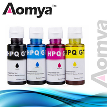 4X100ML Specialize Dye Ink Refill ink Kit For HP DeskJet GT5810 GT5820 GT51 GT52 GT Series tank system Inkjet Printer