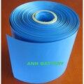 Bateria de lítio frete Grátis W230mm PVC Calor tubo Shrinkable largura 230mm termoencolhíveis filme de PVC Azul