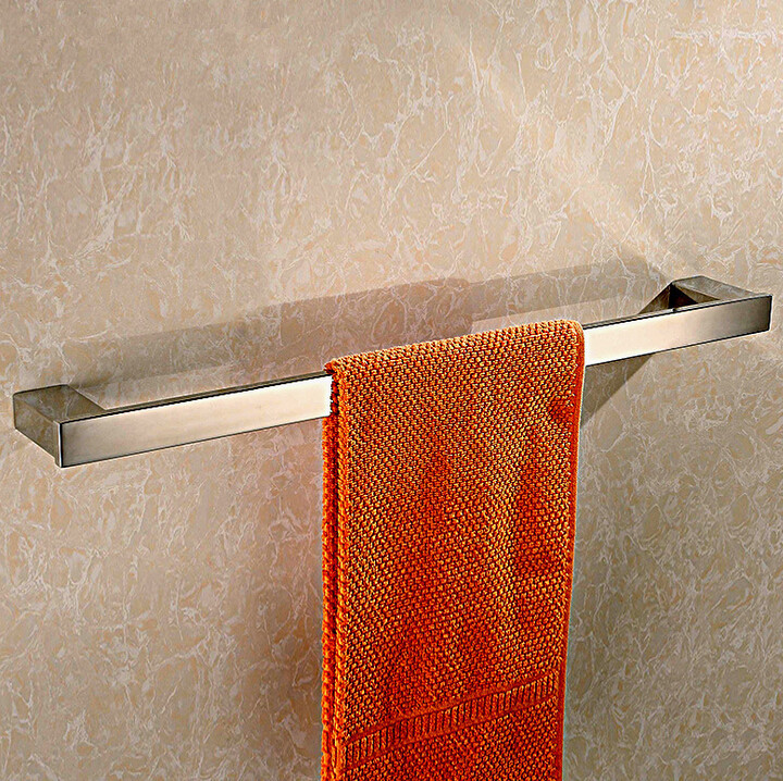 ФОТО sus304 stainless steel single towel rack 2014 new style towel bar bathroom accessories