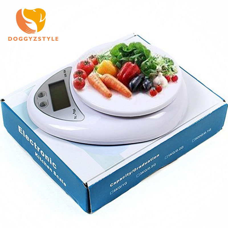 Dashing Portable Digital 5kg/1g Scale Led Electronic Scales Postal Food Balance Measuring Weight Kitchen Food Scale Battery Powered Fashionable Patterns Measuring Tools & Scales