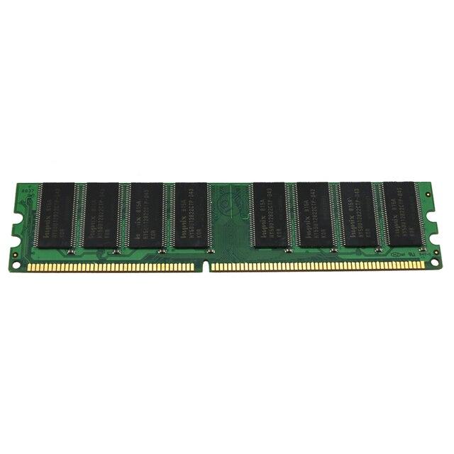 Оперативная память VEINEDA DDR 2 ГБ 2x1 ГБ DDR400 PC3200 1 Гб, совместимая со всеми ПК 4