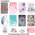 For Samsung Galaxy Tab E 9.6 T560 SM-T560 Fashion PU Leather Flip Case For Samsung Galaxy Tab E T561 SM-T561 Tablet Smart Case