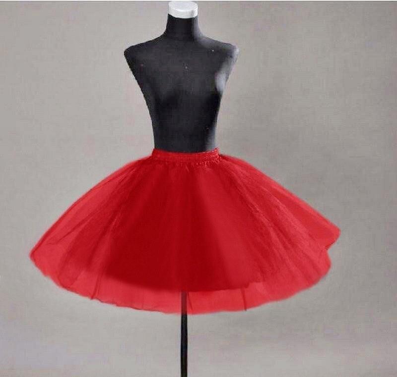 Для девушек, белый, черный, тюль, 3 слоя, Нижняя юбка, короткая, до колена, кринолин, рокабилли, Нижняя юбка, быстрая