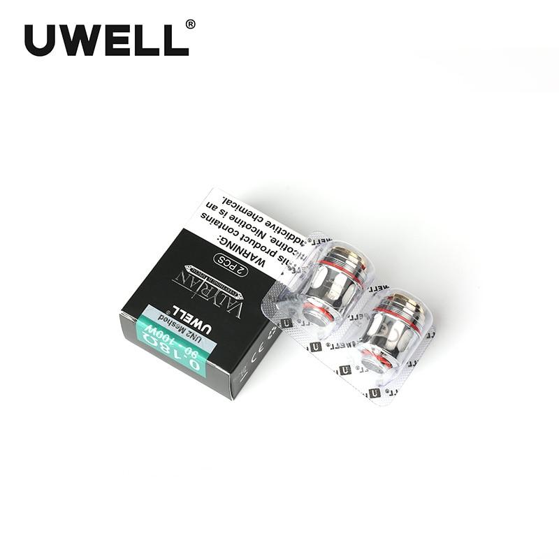 UWELL 5 แพ็ค 10 Pcs VALYRIAN เปลี่ยนขดลวดตาข่าย Coil 0.18ohm/0.15ohm 95 120 W สำหรับ VALYRIAN ถังอิเล็กทรอนิกส์-ใน แกนตัวสร้างควันบุหรี่ไฟฟ้า จาก อุปกรณ์อิเล็กทรอนิกส์ บน AliExpress - 11.11_สิบเอ็ด สิบเอ็ดวันคนโสด 1