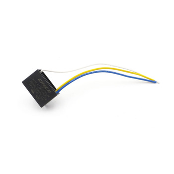 CBB61 1uF+2uF 250V 3 wires Motor Run Capacitor electrical fan 3 Speed electric fanners Electronic Fan Regulator Cable 250VAC