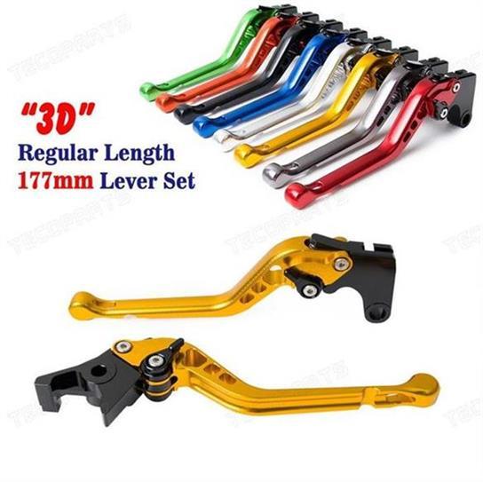 CNC 6 Position 3D Long Brake Clutch Lever for SUZUKI RGV 250 alle