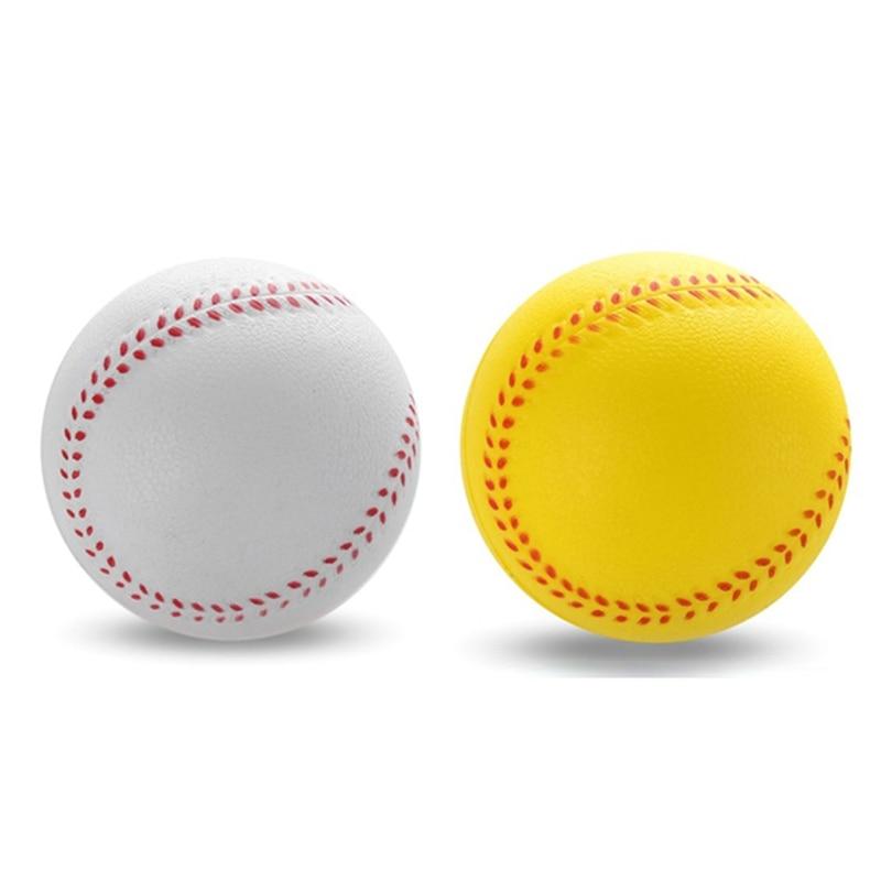 1 Pcs Universal Handmade Baseballs PVC&PU Upper Hard & Soft Baseball Balls Softball Ball Training Exercise Baseball Balls