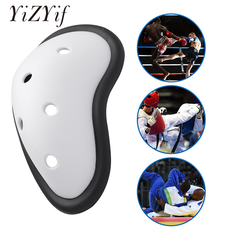 PP Silicone Cup Enhancer Bugle Pouch Enhancing Inside Pad Penis Pouch Protection Push Up Cup Pad For Taekwondo Singlekick Sports