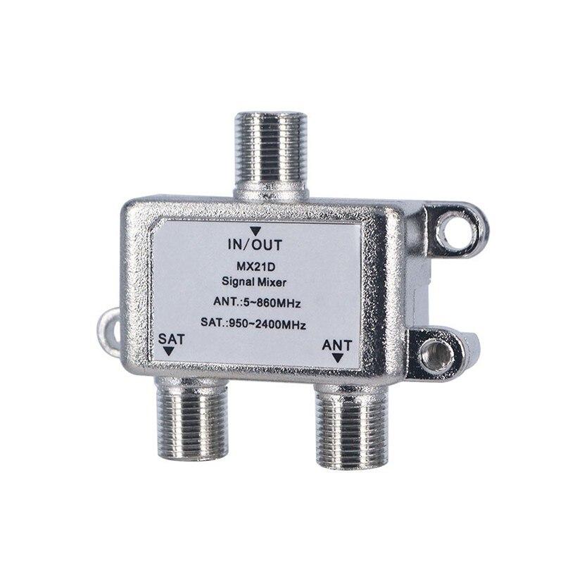 Kvaliteetne 2 in 1 kahesuguse kasutusega kahesuunaline diplexer TV - Kodu audio ja video - Foto 3