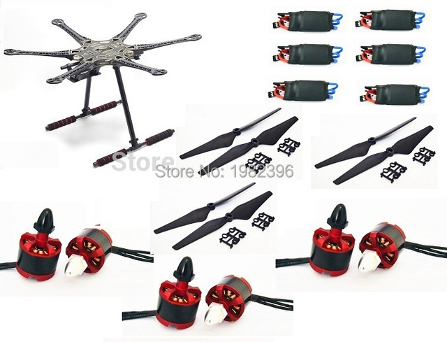 Aliexpress.com : Buy S550 F550 500 Upgrade Hexacopter Frame Kit with ...