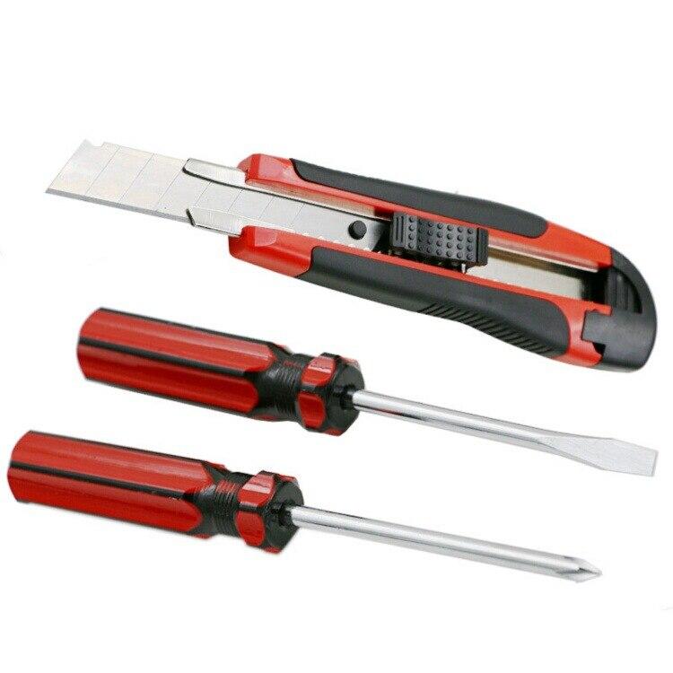 18 vnt. / Buitinių rankinių įrankių rinkinys su oksfordo - Įrankių komplektai - Nuotrauka 5