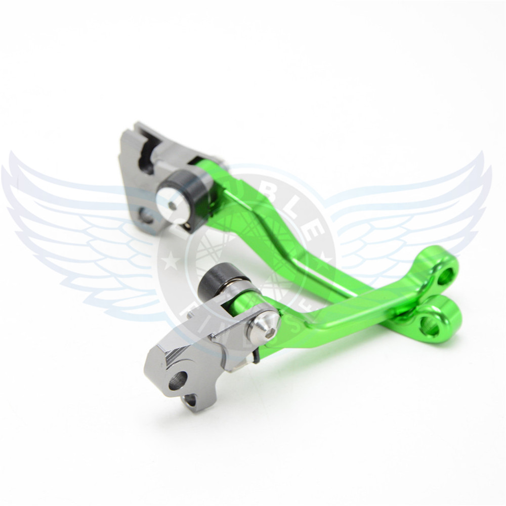 ФОТО hot sale motorcycle Pivot Brake Clutch Levers cnc brake clutch lever For Kawasaki KX65  00 01 02 03 04 05 06 07 08 09 10 11 12
