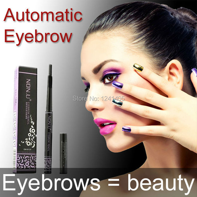 5 style automatic makeup brushes for eyebrows